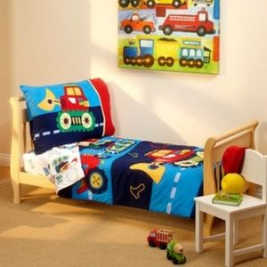 Other - Toddler bed set 4pc